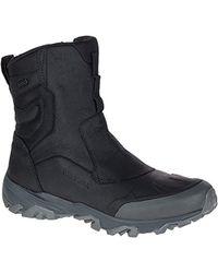 "Merrell - Coldpack Ice+ 8"" Zip Polar Wtp Snow Boot - Lyst"