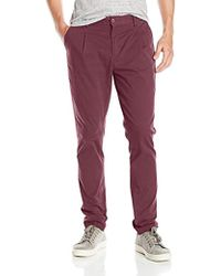 William Rast - Bedford Relaxed Fit Tapered Leg Chino Pant - Lyst