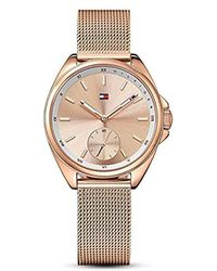 Tommy Hilfiger - Sport' Quartz Gold Casual Watch(model: 1781756) - Lyst
