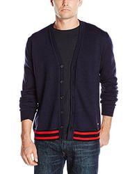 Just Cavalli - Leopard Print Linded Cardigan Sweater - Lyst