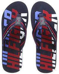 f3a7fc3b76548 Tommy Hilfiger -   s Bold Beach Sandal Flip Flops - Lyst