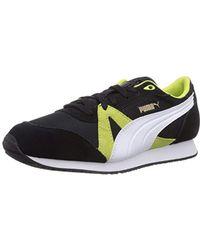 366617e96a4 PUMA Hi Top Sneakers in Black for Men - Lyst