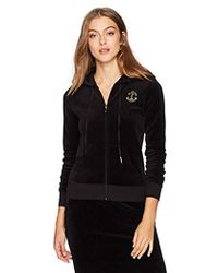 Juicy Couture - Black Label Velour Interwoven Robertson Jacket - Lyst