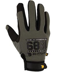 Carhartt - The Fixer Spandex Work Glove With Water Repellant Palm - Lyst