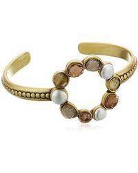Lucky Brand - S Druzy Circle Cuff Bracelet - Lyst
