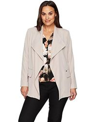 CALVIN KLEIN 205W39NYC - Plus Size Soft Suiting Flyaway Jacket - Lyst