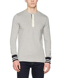 78b8e9d411478 Tommy Hilfiger New York Long Sleeve T-shirt in Blue for Men - Lyst