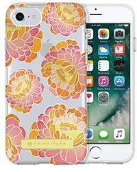 Trina Turk - Translucent Case (1-pc) For Iphone 8, Iphone 7 & Iphone 6/6s - Villa Floral Pink/orange/clear - Lyst