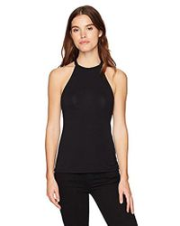 Guess - Sleeveless Elyza Mock Neck Top - Lyst