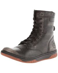DIESEL - Tatradium Basket Butch Zippy Boots - Lyst