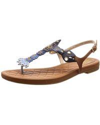 d7e04d2b5fe Lyst - Cole Haan Pinch Lobster Sandal in Metallic