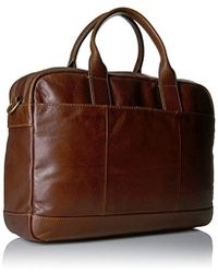 Fossil - Briefcase Work Bag - Lyst