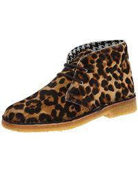 Studio Pollini - Calf Hair Lace Up Fashion Sneaker - Lyst