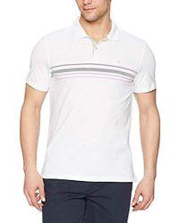 CALVIN KLEIN 205W39NYC - Short Sleeve Cotton Fashion Polo Shirt - Lyst