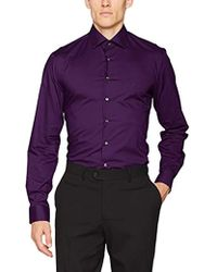 Calvin Klein - Cannes Fitted Fec Business Shirt - Lyst