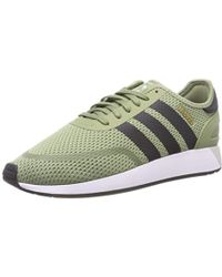 78075a6f07412 adidas  s Iniki Runner Fitness Shoes Grey in Blue for Men - Lyst