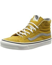 e7f42699d9 Vans - Unisex Adults  Sk8-hi Slim Hi-top Trainers - Lyst