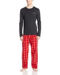 CALVIN KLEIN 205W39NYC - Holiday Pajama Set - Lyst