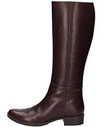 Geox - Donna Meldi Stivali 35 Riding Boot - Black,35 Eu/5 M Us - Lyst