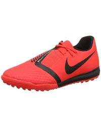 newest 1f0e8 2488a Nike - Unisex Adults Phantom Venom Academy Tf Footbal Shoes, Multicolour  Black bright Crimson
