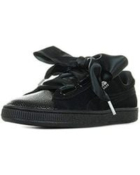 PUMA Suede Heart Bubble Wn s Trainers in Gray - Lyst 8d18f0534