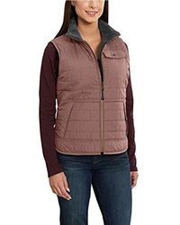 Carhartt - Amoret Sherpa Lined Vest - Lyst