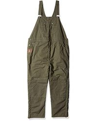 Wrangler - Big And Tall Lined Bib Overall - Lyst