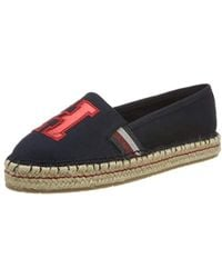 74243ab2942e71 Tommy Hilfiger - Fw0fw03846 Women's Espadrilles / Casual Shoes In Blue -  Lyst