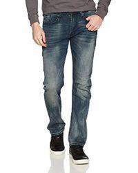 Buffalo David Bitton - Casper-x Slim Comfort Fit Knit Denim Pant - Lyst