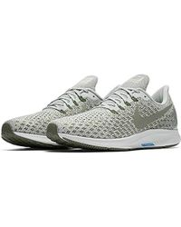 ea28f3a5994aa Nike Air Zoom Pegasus 35 Running Shoes in Gray for Men - Lyst