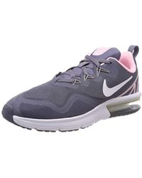 6a17e77eb8 Nike Air Max Fury Explorer Running Shoe in Metallic - Lyst