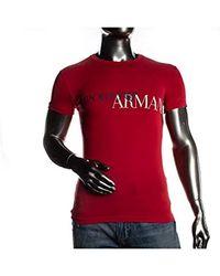 Emporio Armani - Herren T-Shirt Knit - Lyst