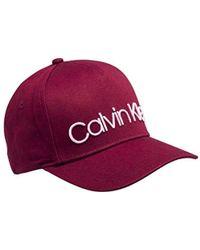 Calvin Klein Ck Baseball Cap W - Lyst 249e4654b2b