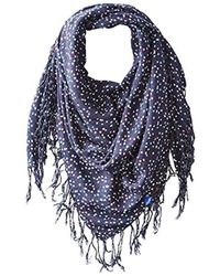 Keds - Square Scarf With Fringe - Lyst