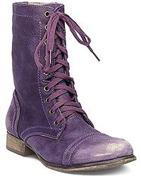 Steve Madden - Troopa Lace-up Boot - Lyst