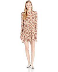 O'neill Sportswear - Junior's Leona Long Sleeve Mock Neck Dress - Lyst