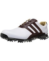 buy online c40af 7c8d7 adidas - Adipure Classic Ftwwhtre Golf Shoe - Lyst