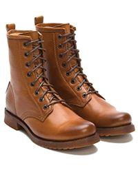 Frye - Veronica Combat Boot - Lyst