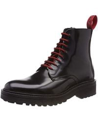 HUGO - Black Impact Casual Boots - Lyst