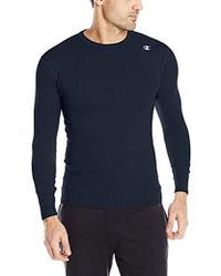 Champion - Double Dry Long Sleeve Compression Shirt - Lyst