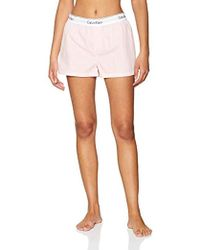 Calvin Klein - Sleep Short Pyjama Bottoms - Lyst