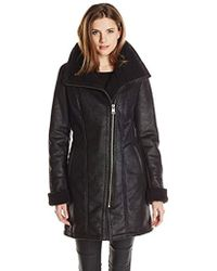 7 For All Mankind - Faux-shearling Coat - Lyst