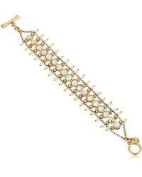 Lucky Brand - Abalone Ladder Bracelet - Lyst