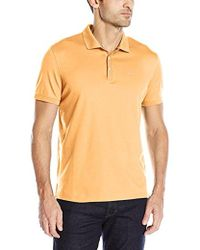 Calvin Klein - Liquid Cotton Polo - Lyst