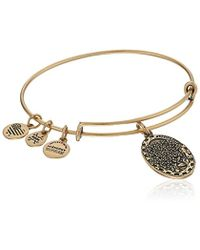 ALEX AND ANI - Daughter Expandable Charm Bangle - Lyst