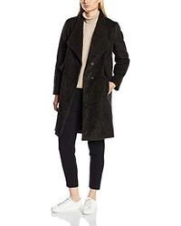 French Connection - Tyler Wool Ls Wrapovr Coat Coat - Lyst