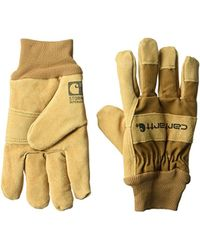 Carhartt - Wb Suede Leather Waterproof Breathable Work Glove - Lyst