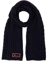 Tommy Hilfiger - Cable Mix Scarf - Lyst