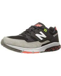New Balance 530 Vazee S Trainers Black Mvl530ag, Size:42.5