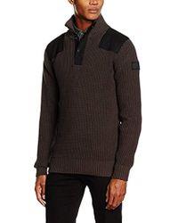 G-Star RAW - Raw Utility Half Zip Sweater - Lyst